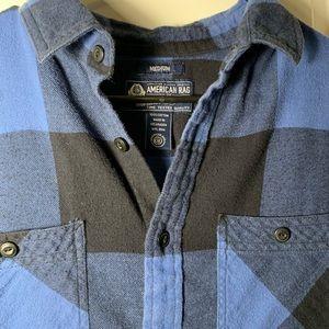 American Rag Shirts - American Rag Blue Buffalo Check Soft Flannel